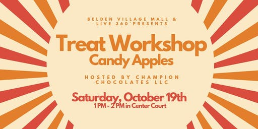 Treat Workshop: Chocolate & Caramel Covered Apples