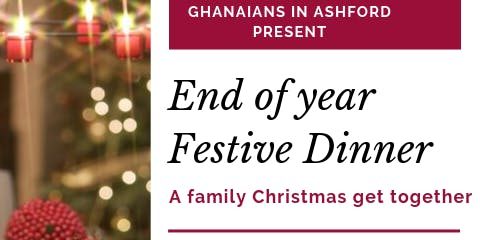 Ghanaians in Ashford End of year event