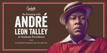 An Evening with André Leon Talley at Graduate Providence