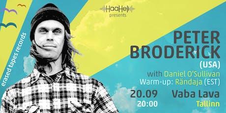Peter Broderick (USA) in Tallinn tickets