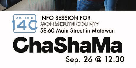 Art Fair 14C info session and Q&A in Monmouth County tickets