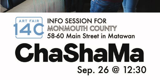 Art Fair 14C info session and Q&A in Monmouth County