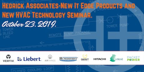 Hedrick Associates - New It Edge Products and New HVAC Technology Seminar tickets