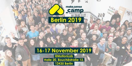 Sensecamp Berlin 2019 - Actions for a cooler planet entradas