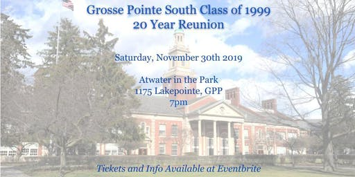 Grosse Pointe South Class of 1999 Reunion