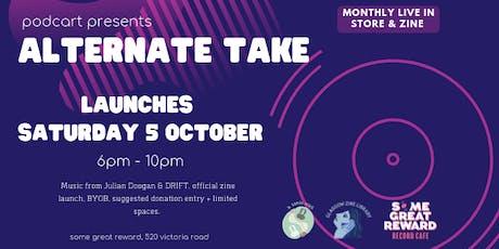 Podcart presents Alternate Take tickets