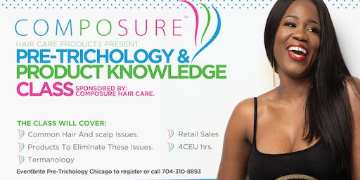 Pre-Trichology and product Knowledge class(Chicago)