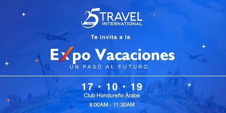 """Expo Vacaciones """"Un paso al Futuro"""" entradas"""