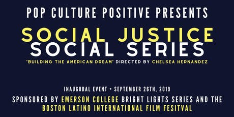Pop Culture Positive Presents: Social Justice Social Series Night One tickets