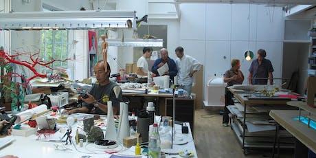 Auf den Spuren der Kreativität – Führung durch die Designstudios von Ingo Maurer Tickets