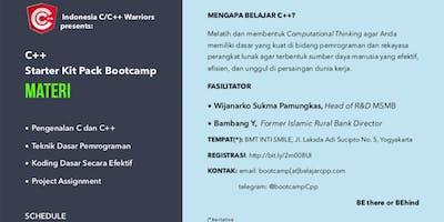 Starter Kit Pack C++ Bootcamp: Batch-1