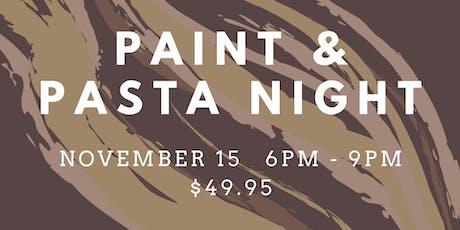 Paint & Pasta Night tickets