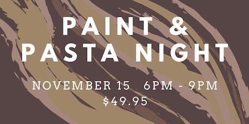 Paint & Pasta Night