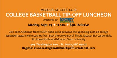 2019 College Basketball Tip-Off Luncheon