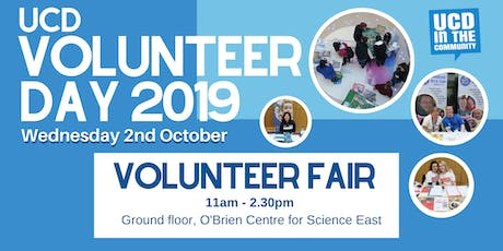 UCD Volunteer Fair  2019 tickets