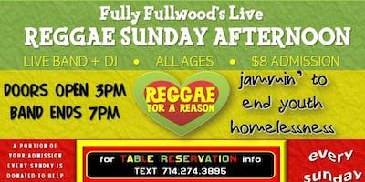 Fully Fullwoods Live Reggae Sunday