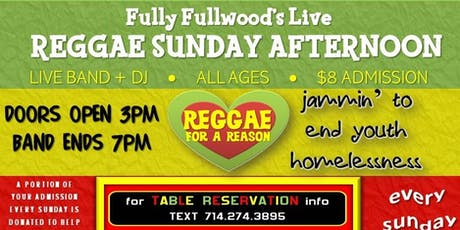 Fully Fullwoods Live Reggae Sunday tickets