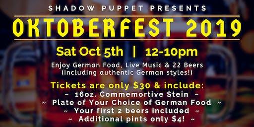 Oktoberfest at Shadow Puppet Brewing Company