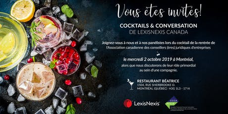 Cocktails & Conversation de LexisNexis Canada billets