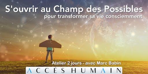 S'ouvrir au Champ des Possibles - pour transformer sa vie consciemment