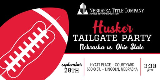 Nebraska Title Company's Husker Tailgate Party
