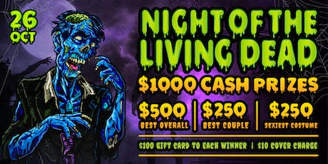 Night of the Living Dead: Halloween Party at Vine Nightclub tickets