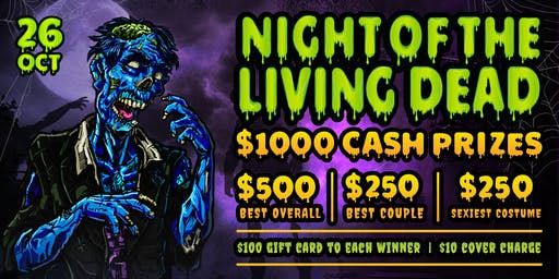 Night of the Living Dead: Halloween Party at Vine Nightclub