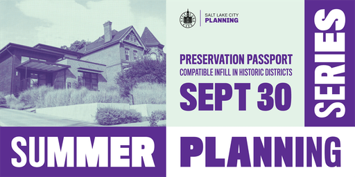 Summer Planning Series // Preservation Passport