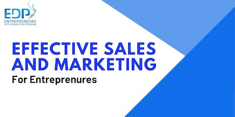 Entrepreneurship - Sales and Marketing tickets