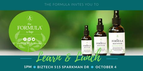 theFORMULA Learn & Lunch tickets