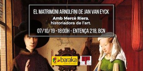 "Amb lupa! Analitzem... ""El matrimoni Arnolfini"" de Jan Van Eyck entradas"