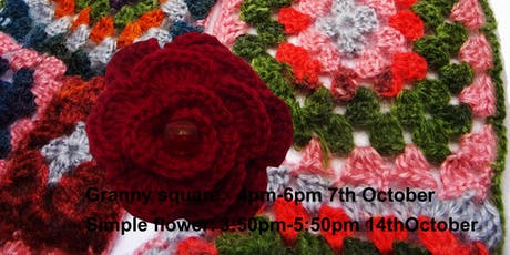 Crochet Workshop, Granny Square tickets