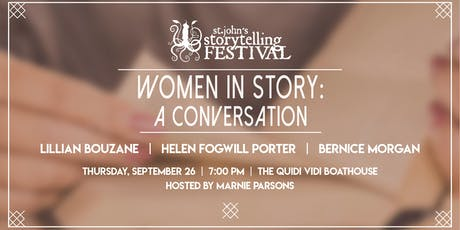Women in Story: A Conversation tickets
