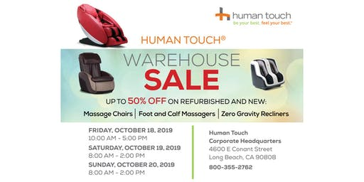 Human Touch Warehouse Sale
