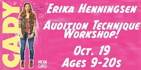 Star of MEAN GIRLS, Erika Henningsen (MEAN GIRLS, LES MISÉRABLES, MAMMA MIA!) Audition Masterclass tickets