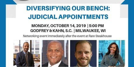 Diversifying Our Bench: Judicial Appointments tickets