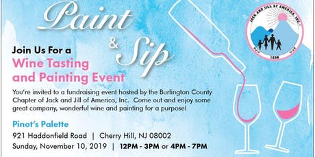 Jack and Jill Burlington County Chapter Paint and Sip tickets