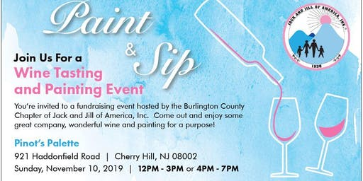 Jack and Jill Burlington County Chapter Paint and Sip