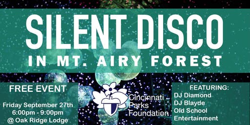 Silent Disco in Mt. Airy Forest