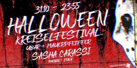 Halloween Ultra (MP&UB) /w Sasha Carassi + drunter&drüber Tickets