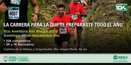 ECO AVENTURA 2019 – RIO ALEGRE - MERLO  entradas