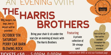 An Evening With The Harris Brothers tickets