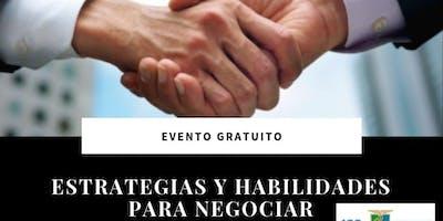 Estrategias y Habilidades para Negociar