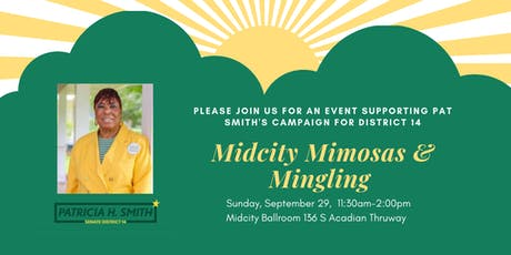MidCity Mimosas & Mingling With Pat Smith tickets