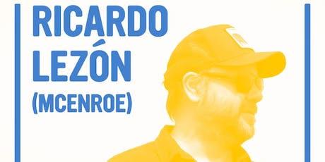 Ricardo Lezon (McEnroe) a la Festa del Roser entradas