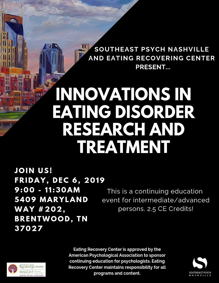 Innovations in Eating Disorder Research and Treatment image