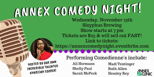 Annex Comedy Night