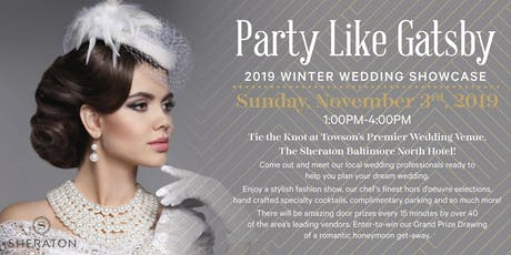 Party Like Gatsby - 2019 Winter Wedding Showcase tickets