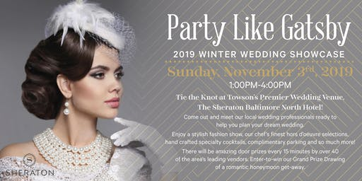 Party Like Gatsby - 2019 Winter Wedding Showcase