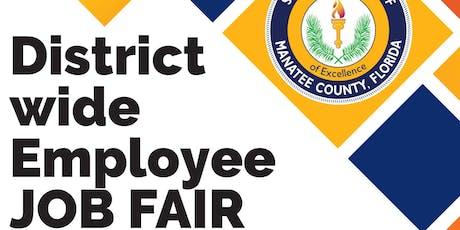 Manatee County Schools District Wide Job Fair tickets